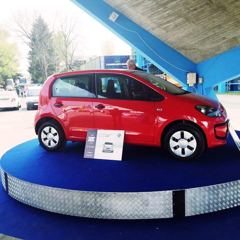 Photo of Izabran dobitnik Volkswagen UP-a na Zagreb Auto Show-u!