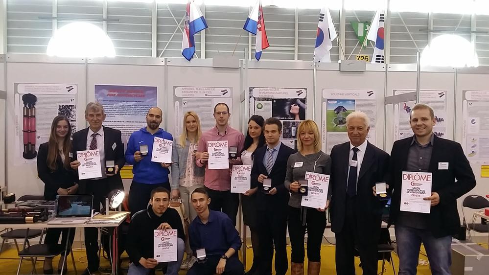 Photo of Zlatne medalje hrvatskim inovatorima na prestižnoj svjetskoj izložbi inovacija u Ženevi