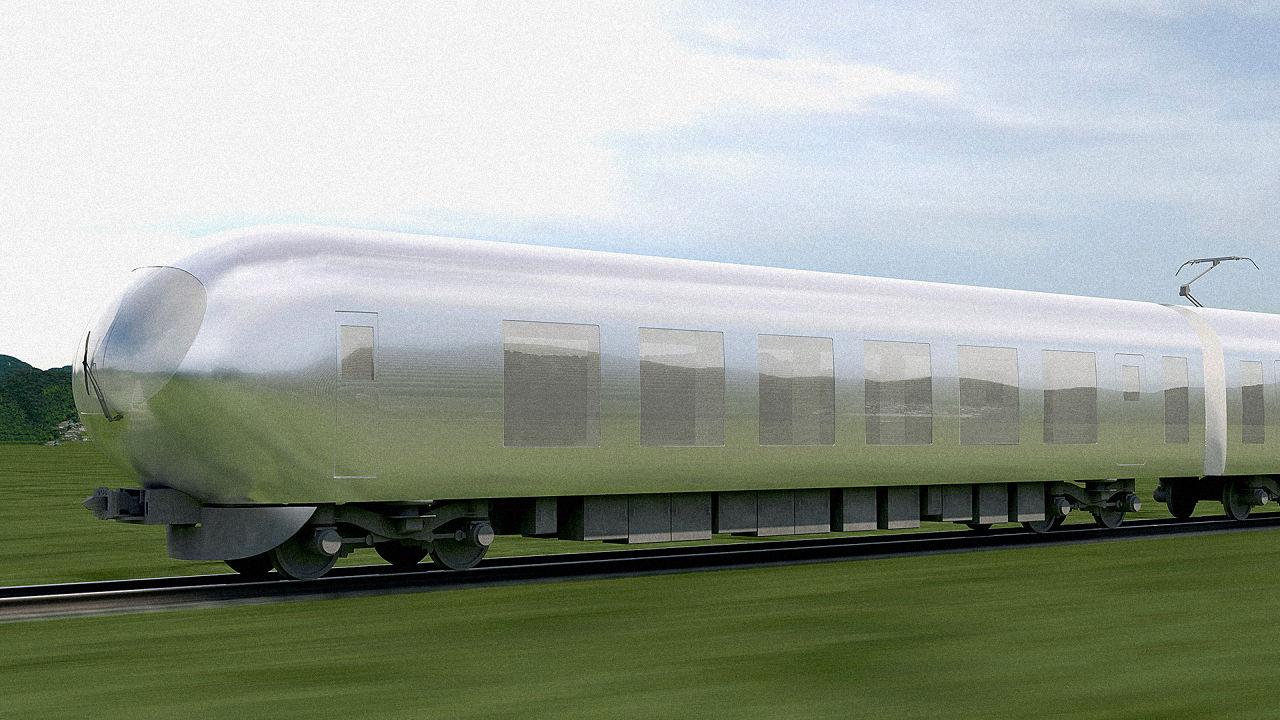 """Photo of Japanci imaju u planu """"nevidljiv"""" vlak"""