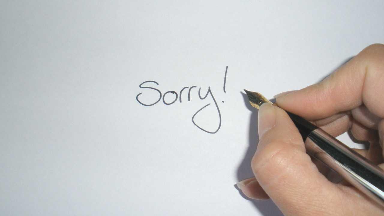Photo of Šest koraka isprike: Od žaljenja do ispričavanja