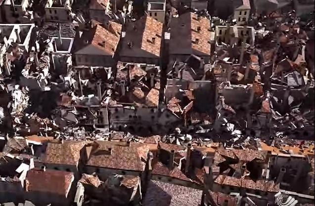 Photo of VIDEO Ovako se rušio Dubrovnik 1667. godine u vrijeme katastrofalnog potresa