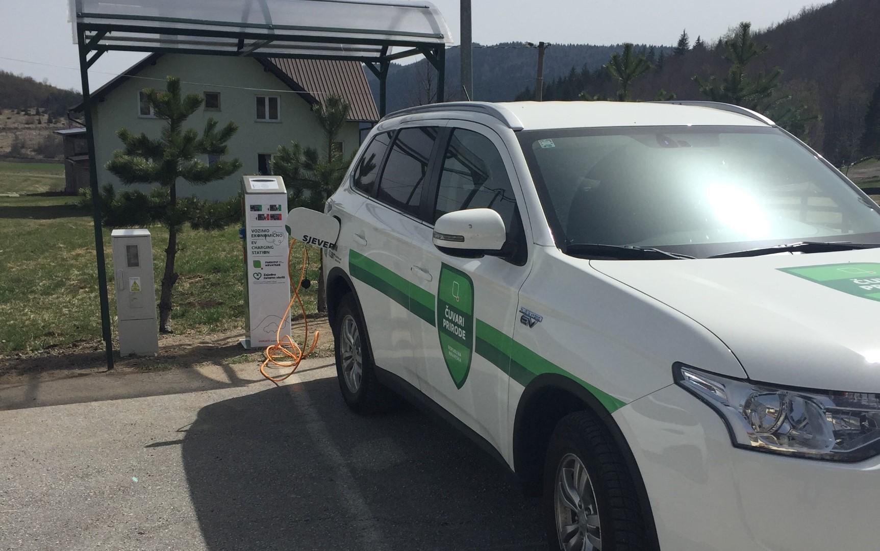 Photo of NP Sjeverni Velebit dobio punionicu za električna motorna vozila u Krasnu