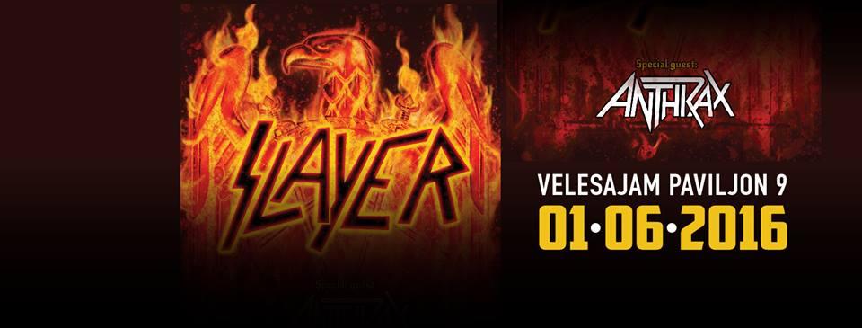 Photo of Slayer i Anthrax dolaze na Zagrebački velesajam!