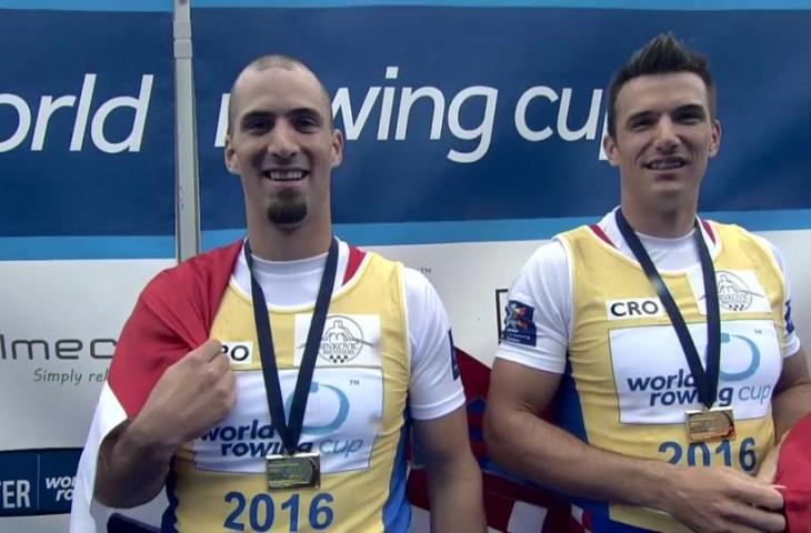 Photo of Braća Sinković osvojili zlato na Svjetskom veslačkom kupu!