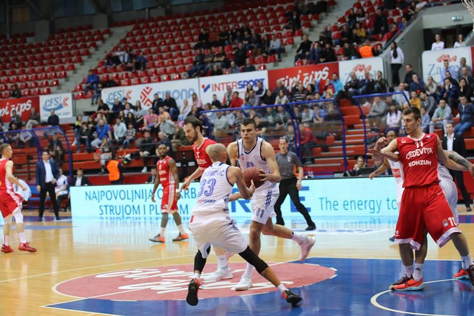 Photo of Košarkaši Cibone svladali Cedevitu u 11. kolu A-1 Lige