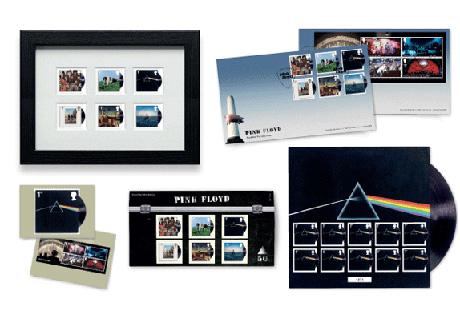 Photo of Pink Floyd na poštanskim markicama