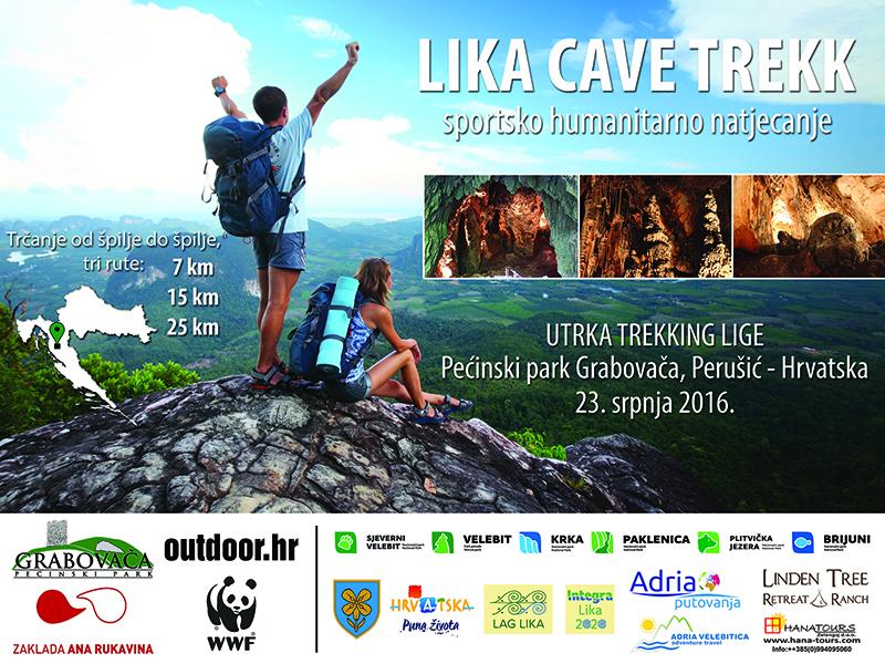 Photo of LIKA CAVE TREKK u srpnju! Trčanje od špilje do špilje i najveća lička sportska manifestacija