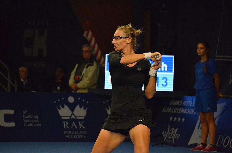 Photo of Mirjana Lučić Baroni plasirala se u u polufinale WTA turnira u Strasbourgu