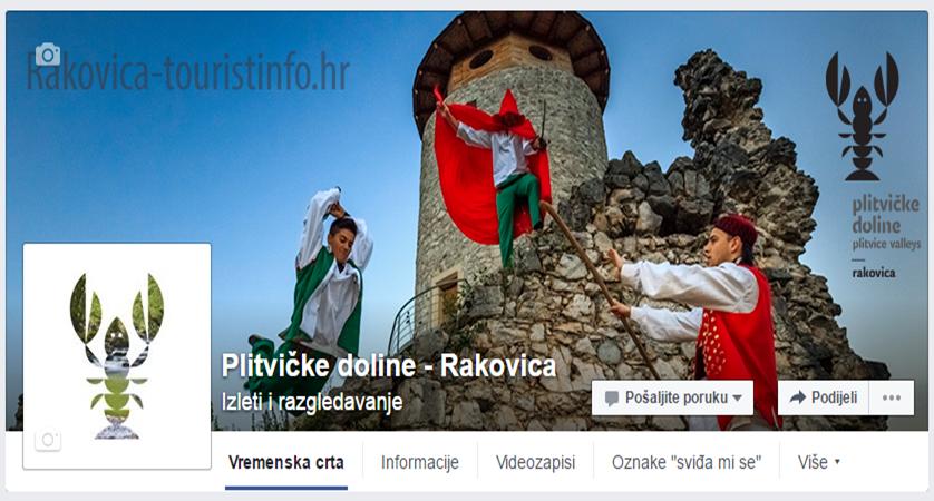 """Photo of PODRŽITE TURIZAM KONTINENTA: Lajkajte Facebook stranicu """"Plitvičke doline – Rakovica""""!"""