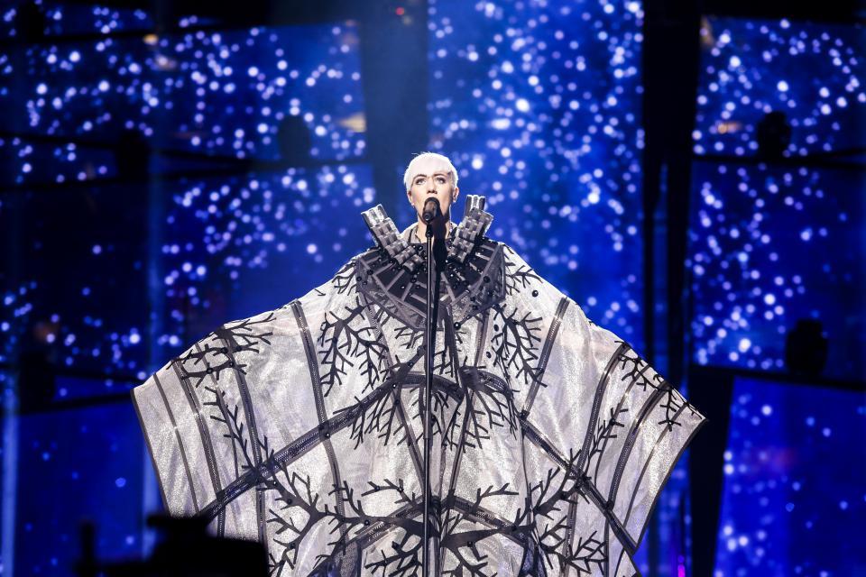 Photo of Nina Kraljić najlošije odjevena na Eurosongu