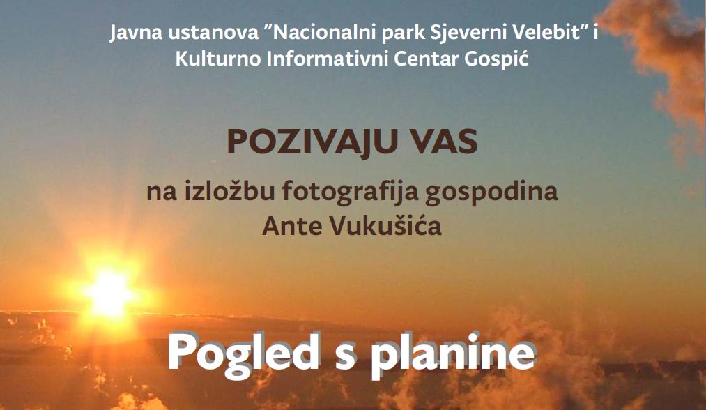 Photo of NP Sjeverni Velebit organizira izložbu fotografija Ante Vukušića u Gospiću
