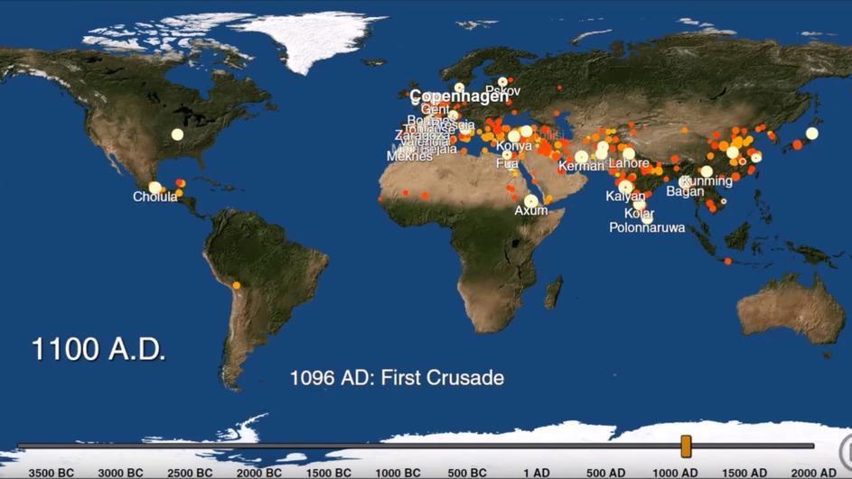 Photo of Animacija: Kako su nastajali gradovi kroz tisućljeća?