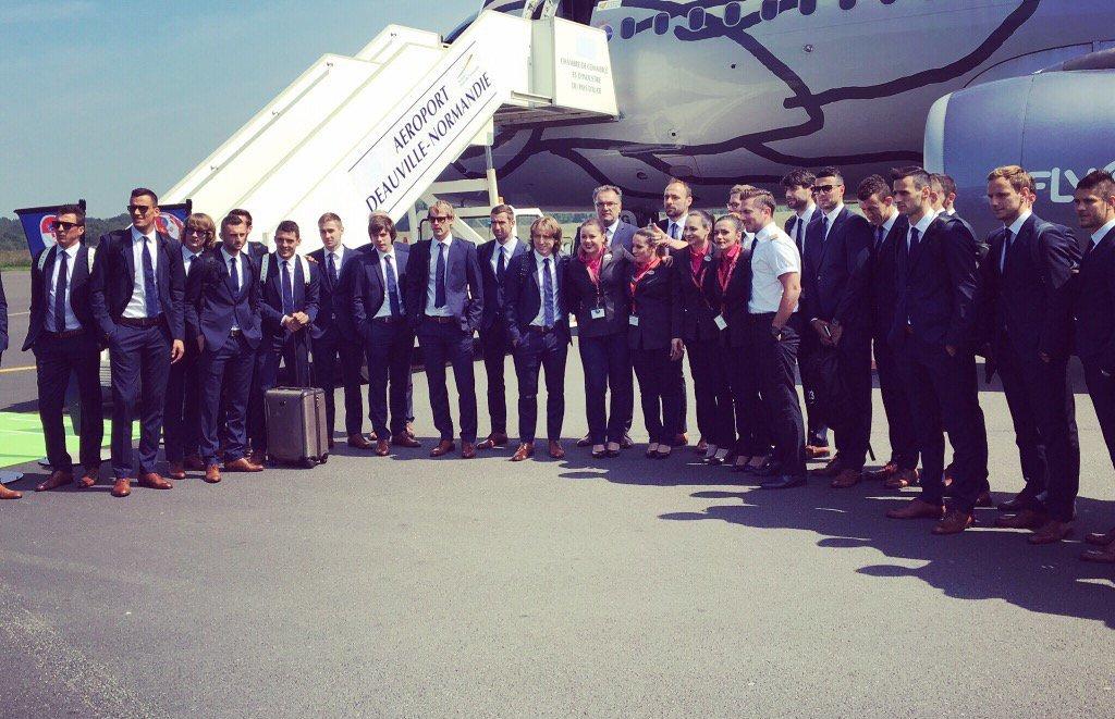 Photo of Hrvatska reprezentacija je otputovala u Francusku!