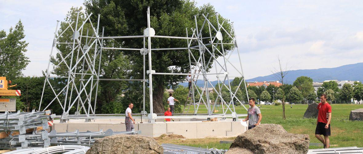 Photo of Započela je gradnja impresivnog Teslinog tornja iznad Jaruna