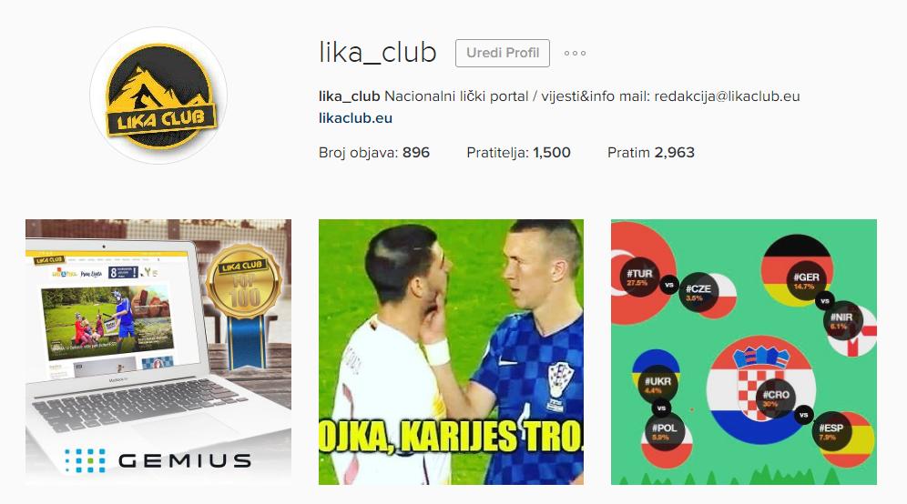 Photo of Preko 1 200 lajkova na Instagramu portala ZA ZUBARA PERIŠIĆA! Idemo na Portugal!