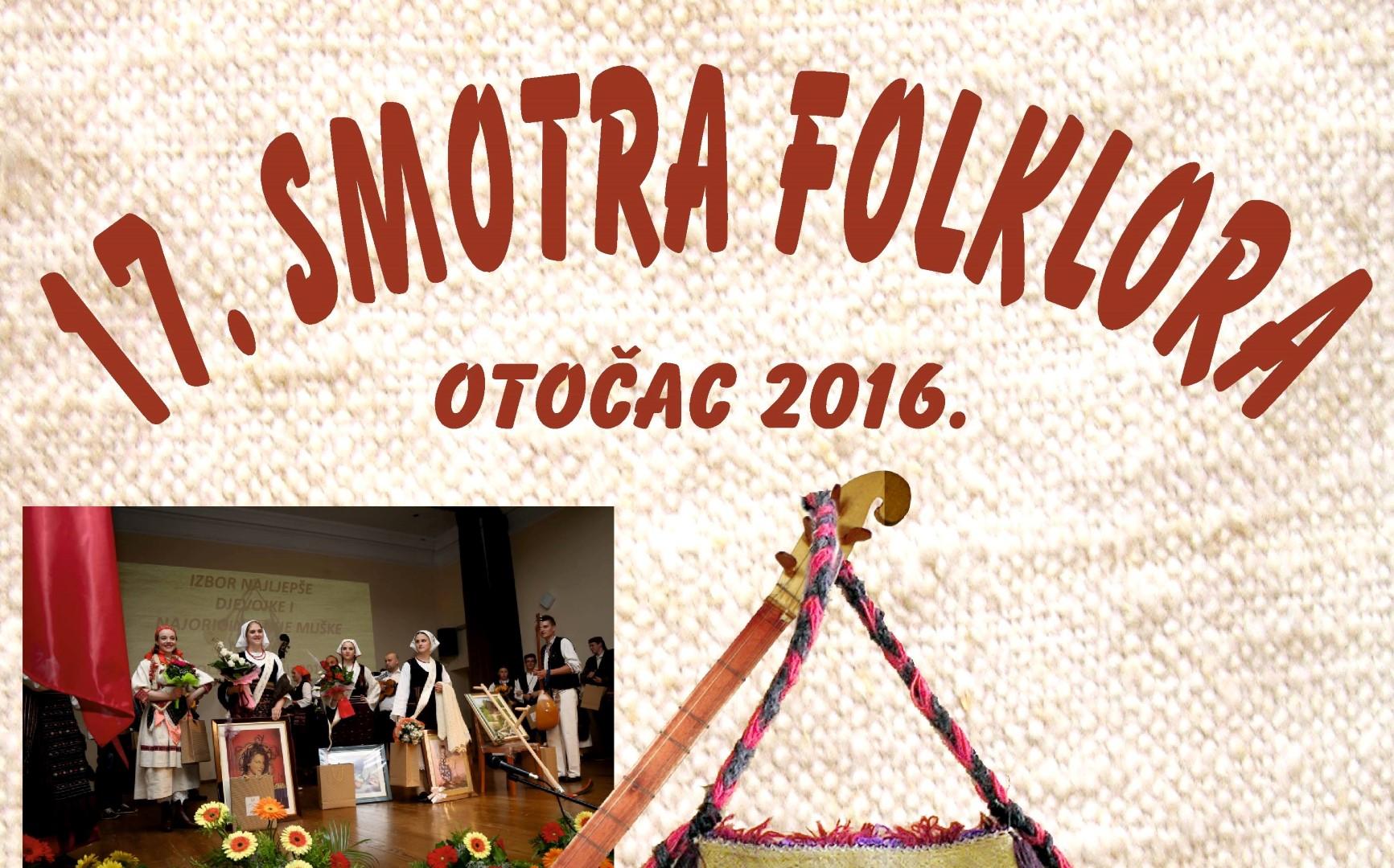 Photo of Smotra folklora u Otočcu će se održati po 17. put