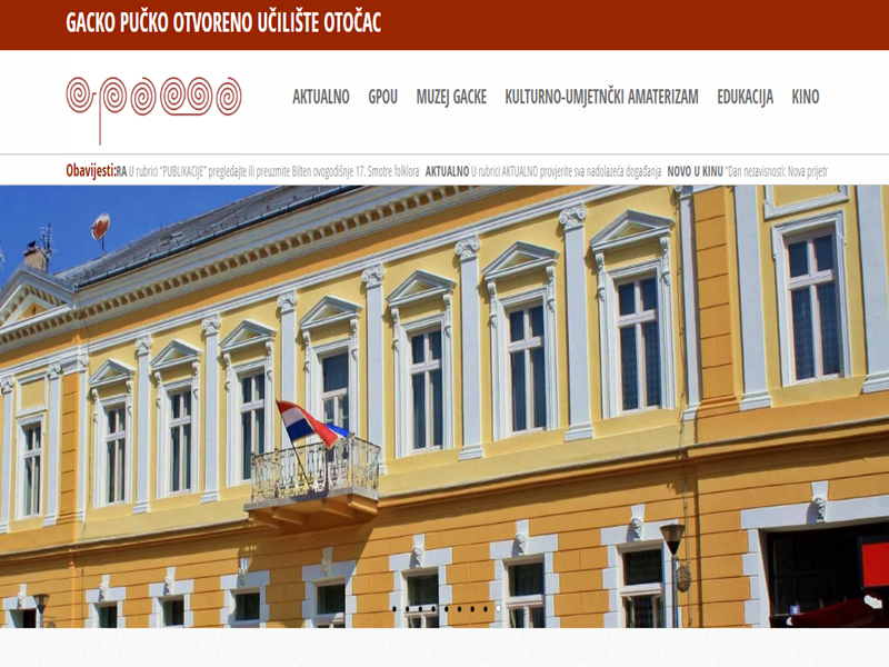 Photo of Gacko pučko otvoreno učilište u Otočcu ima novi web!