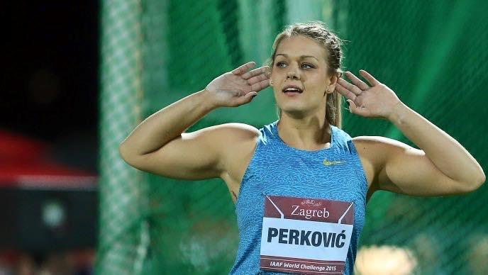 Photo of Sandra Perković pokorila London