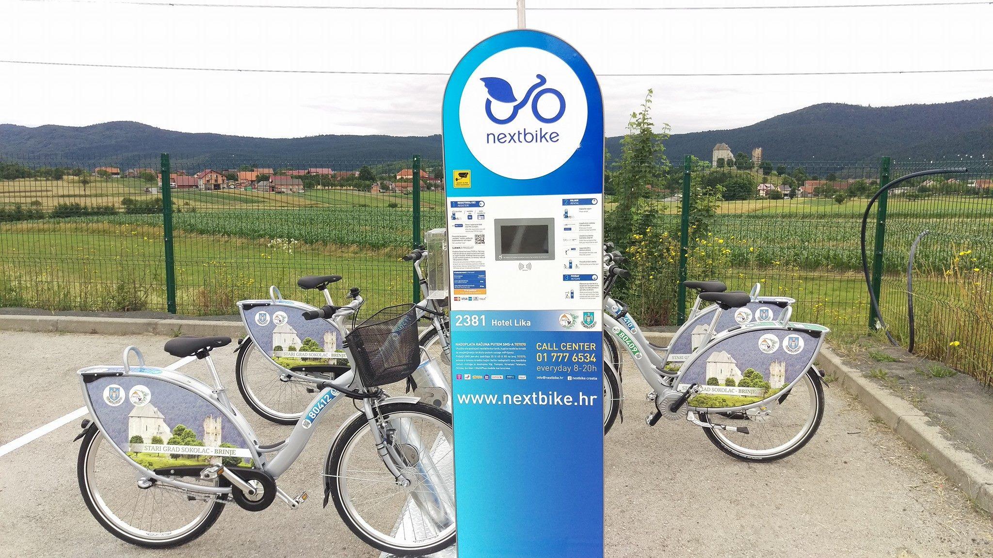 Photo of Nextbike sustav javnih bicikala od sada i u Brinju