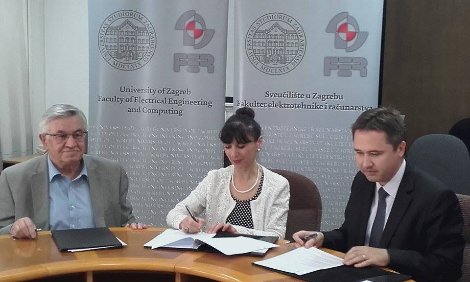 Photo of Potpisan petogodišnji sporazum između FER-a, MC Nikola Tesla i ICE Nikola Tesla