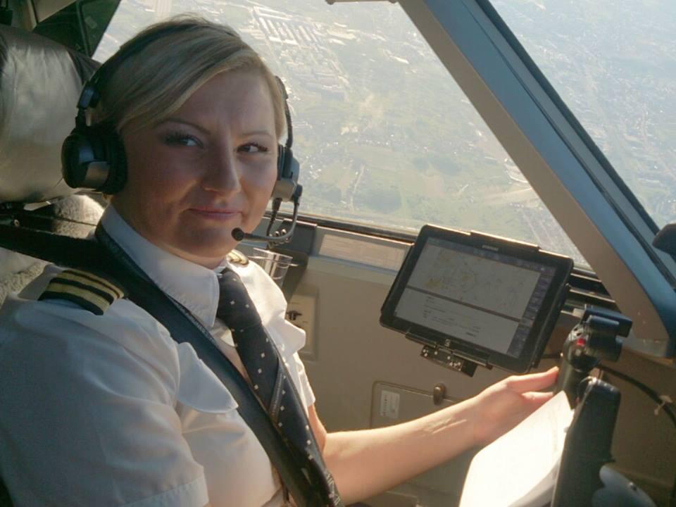 Photo of Kristina je jedina kapetanica zrakoplova u Hrvatskoj