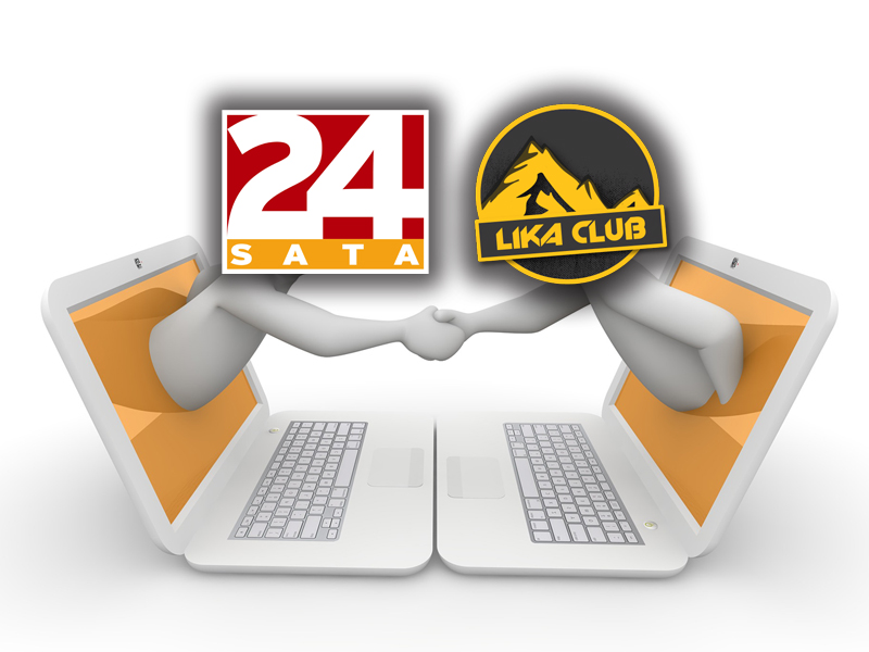 Photo of Portali 24SATA i LIKACLUB otvorili medijsku suradnju!