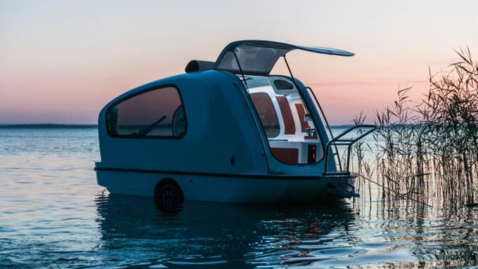 Photo of Sealander: Ovaj se nevjerojatan kamper u trenu pretvara u brod
