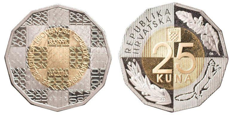 Photo of Hrvatska dobiva novu kovanicu od 25 kuna, možete glasati za jedan od tri predložena dizajna