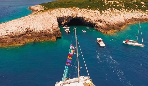 Photo of Pogledajte fascinantni video jedrenja uz dalmatinsku obalu