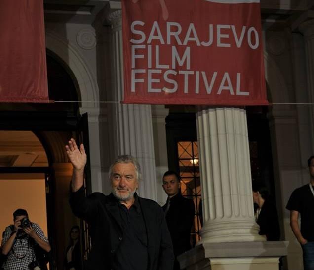 Photo of Robertu De Niru dodijeljena počasna nagrada Srce Sarajeva