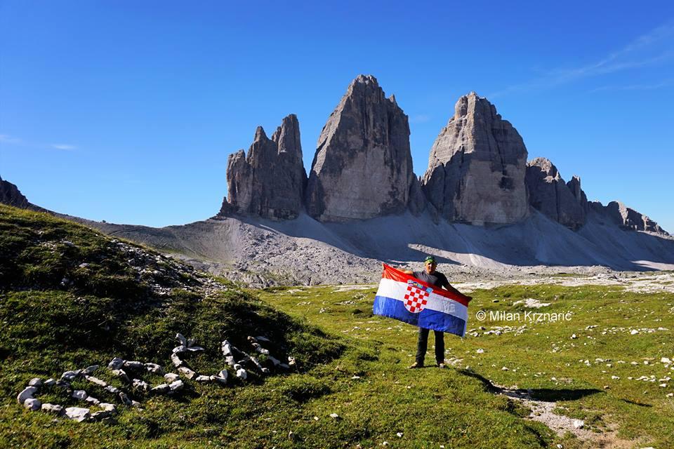 Photo of OTOČAC NA ALPAMA: Fotograf Krznarić sjetio se svog grada s vrha Europe