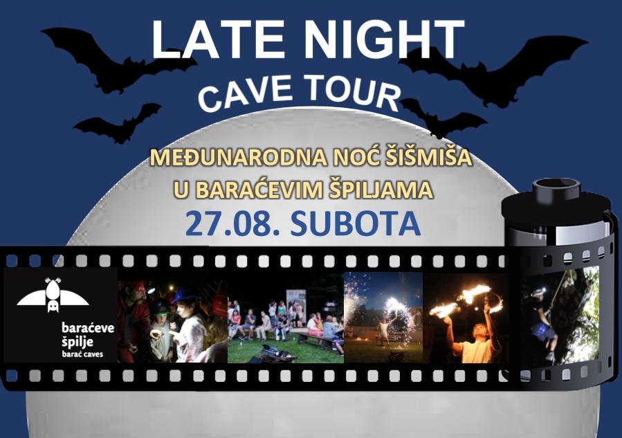 Photo of Baraćeve špilje pozivaju na obilježavanje Noći šišmiša: LATE NIGHT CAVE TOUR