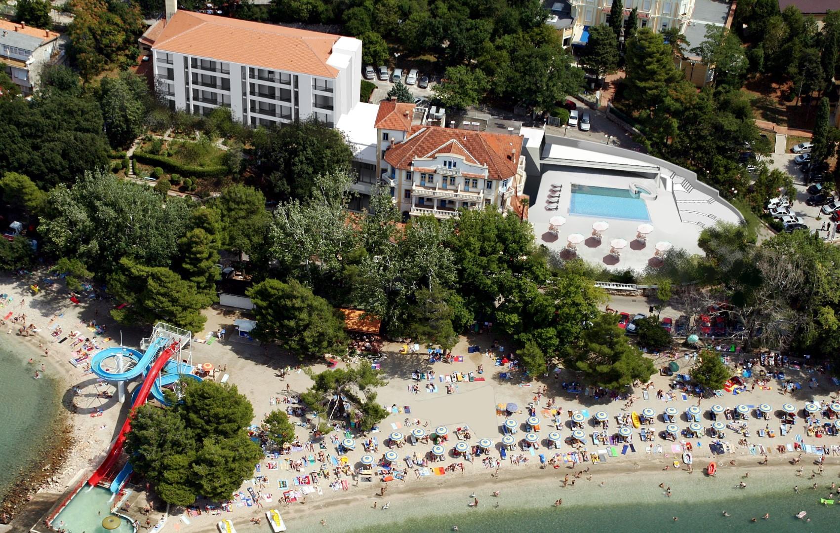 Photo of U Crikvenici investicija od 83 milijuna kuna u hotele Jadran