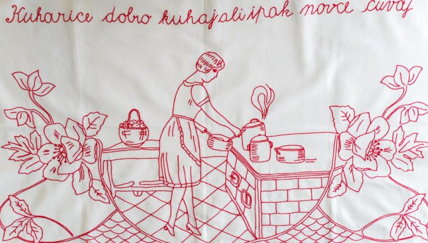 """Photo of """"Domaćica svaka blista, kad je kuća uvijek čista"""""""