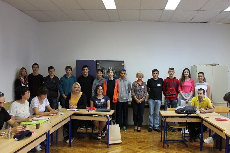 Photo of U Gimnaziji Gospić sastanak predstavnika škola iz 7 europskih država