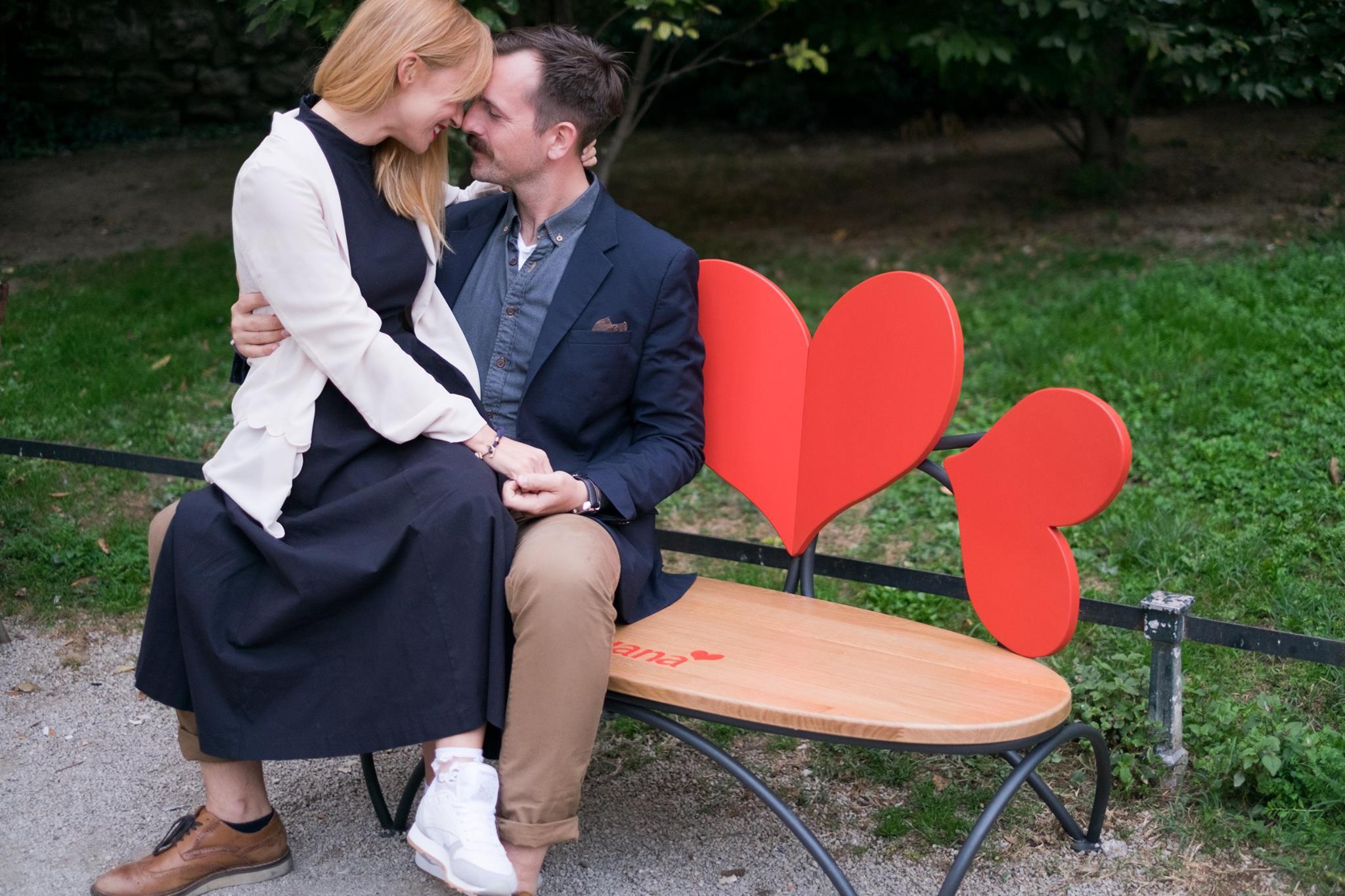Photo of Ljubavni parovi imaju i svoje klupe u Zagrebu