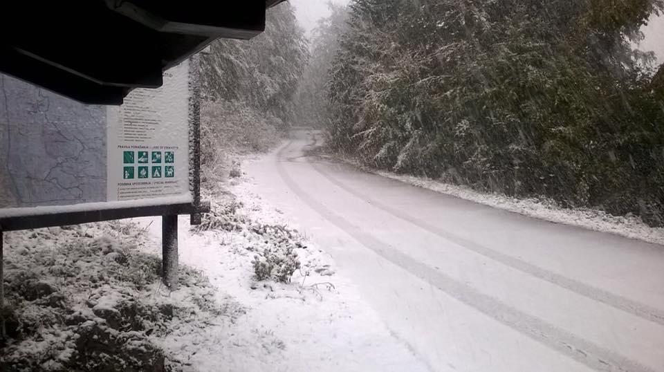 Photo of Snijeg u Nacionalnom parku Sjeverni Velebit!