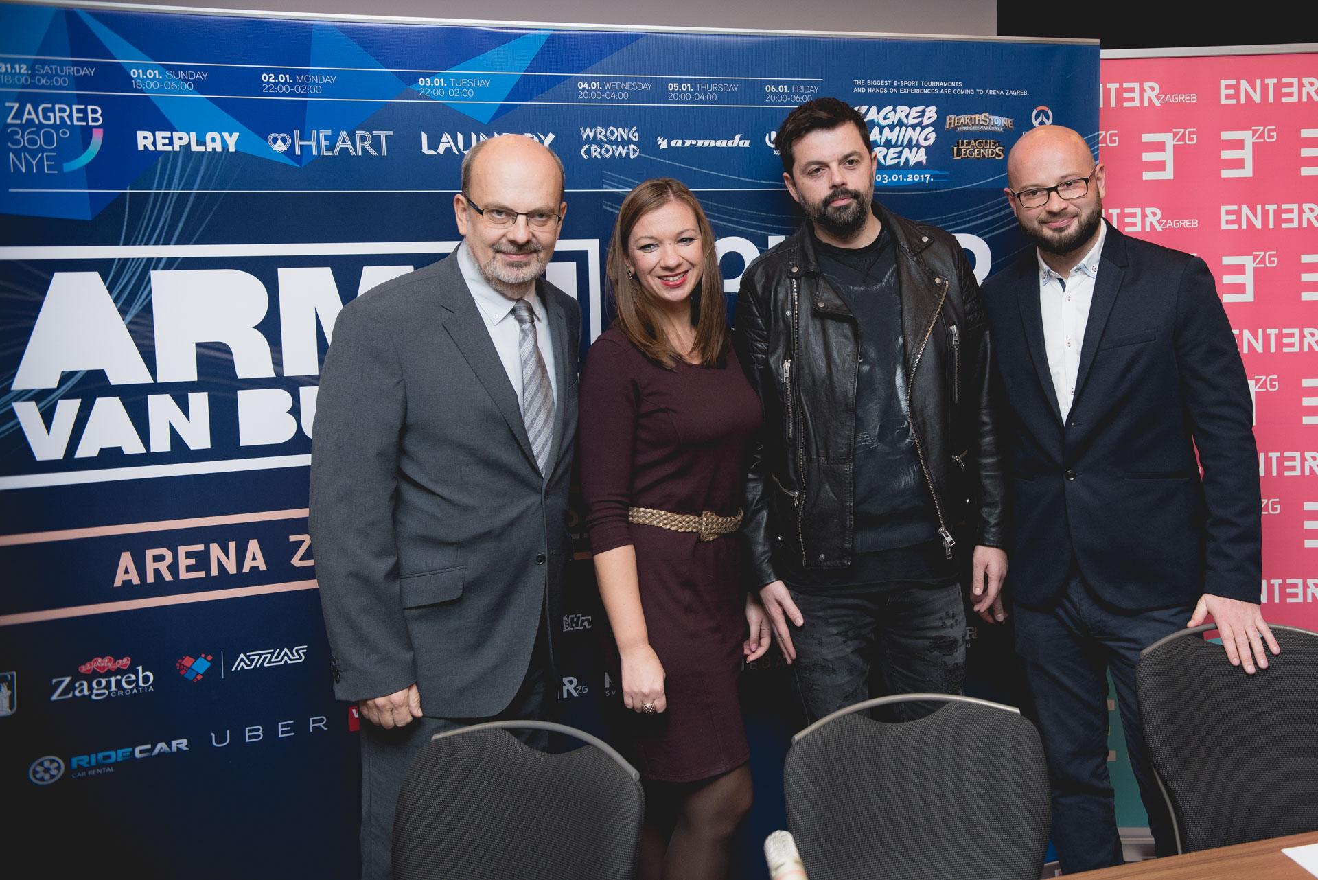 Photo of ARENA ZAGREB Spektakularni doček Nove godine i još šest velikih partyja u Zagrebu
