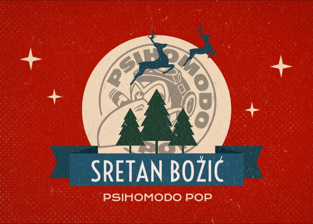 Photo of Neuobičajena blagdanska pjesma: Poslušajte novi singl Psihomodo Popa