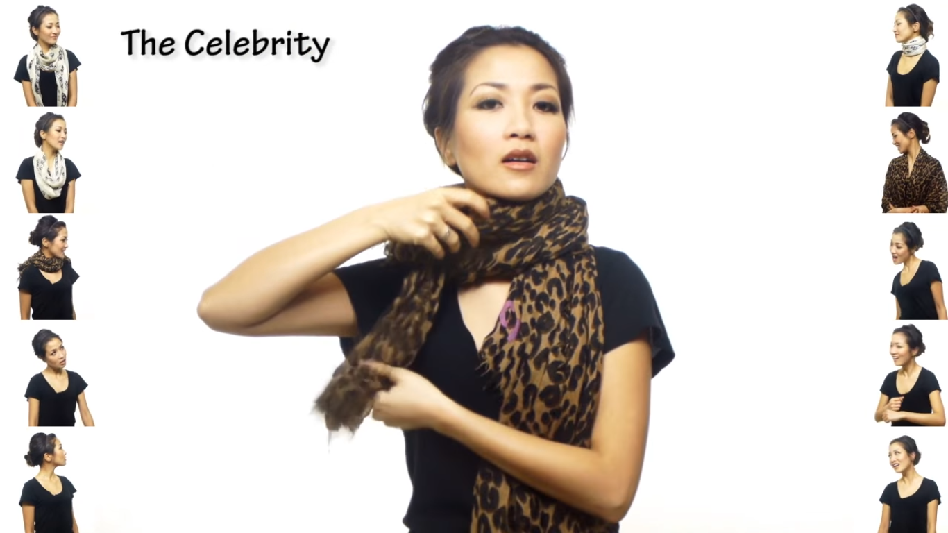 Photo of VIDEO: 25 načina na koje možete vezati šal