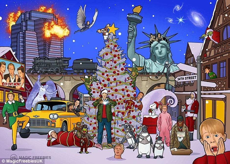 Photo of Možete li prepoznati božićne filmove na ovoj slici?