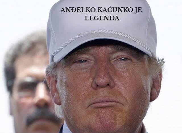 Photo of Don Kaćunko pjesmom čestitao Donaldu Trumpu na pobjedi