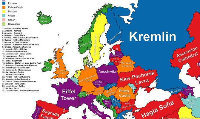 Photo of Google predlaže turistima što posjetiti u svakoj zemlji Europe