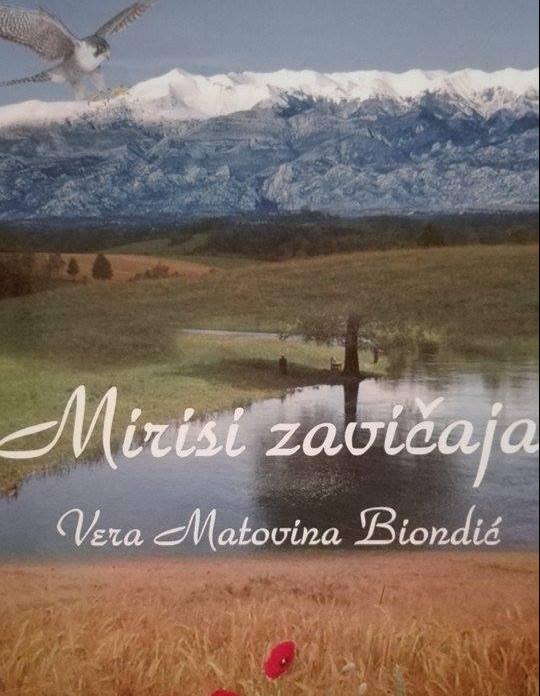 """Photo of """"Mirisi zavičaja"""" druga je zbirka pjesama autorice Vere Matovine Biondić čv"""