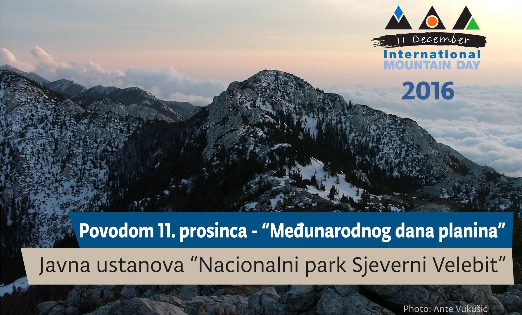 Photo of Nacionalni park Sjeverni Velebit poziva na obilježavanje Međunarodnog dana planina