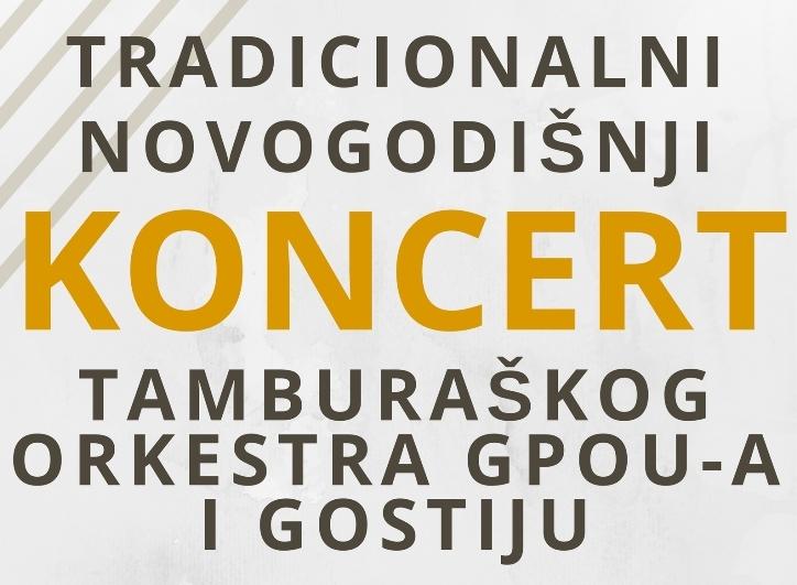 Photo of Tradicionalni novododišnji koncert Tamburaškog orkestra GPOU-a