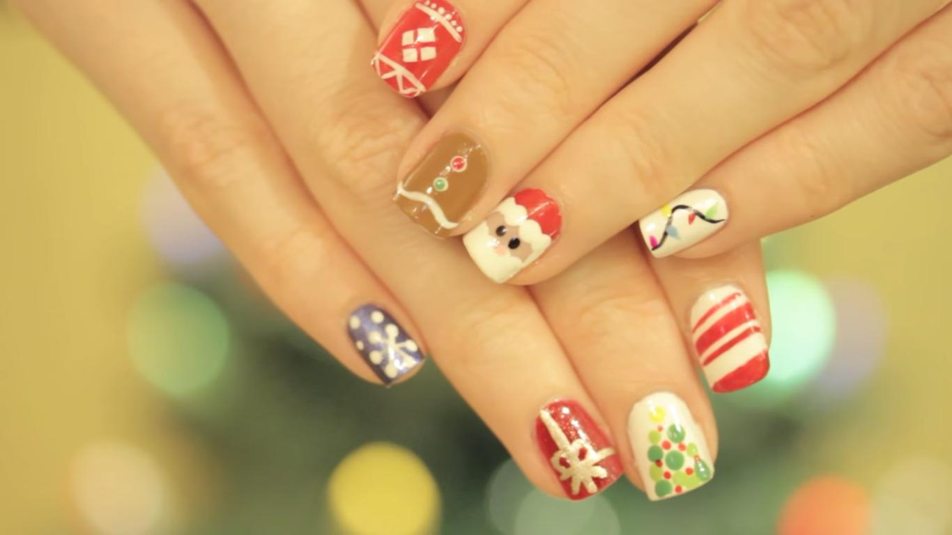 Photo of 10 ideja za ukrašavanje noktiju božićnim motivima