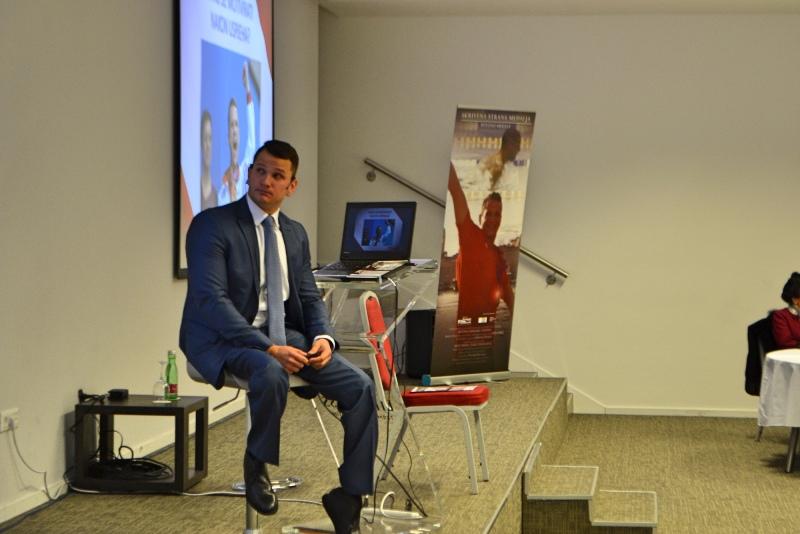 Photo of Hrvatski paraolimpijac Mihovil Španja održao svoj prvi motivacijski govor
