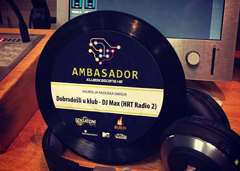 """Photo of DJ MAX najavljuje 900-tu radijsku emisiju """"DOBRO DOŠLI U KLUB""""!"""