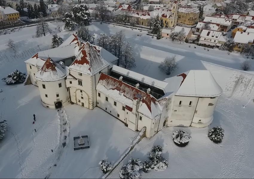 Photo of VIDEO: Varaždinska tvrđava pod snježnim pokrivačem